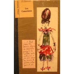 LA BRUYERE les caracteres 1966 Baudelaire RARE++