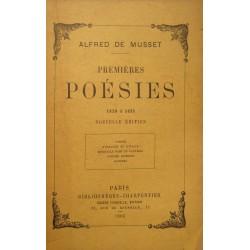 ALFRED DE MUSSET premieres poésies 1829-1835 Charpentier 1906 RARE++