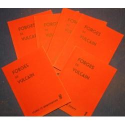 Catalogues FORGES DE VULCAIN 6 volumes - outillages/machines/accessoires RARE++