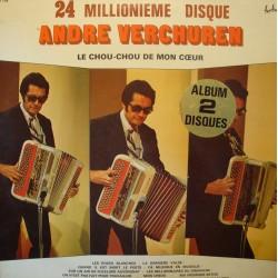 ANDRÉ VERCHUREN 24 millionième disque - le chou-chou de mon coeur 2LP'S VG++