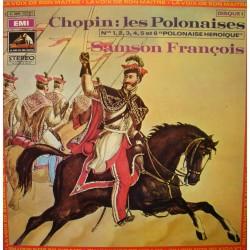 SAMSON FRANÇOIS les polonaises CHOPIN LP 1969 Emi EX++