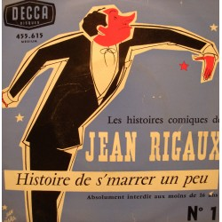 "JEAN RIGAUX histoire de s'marrer un peu N°1 EP 7"" Decca VG++"