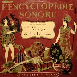 STEGMANN/HACQUARD visages de La Fontaine LP Ducretet + livrets RARE VG++