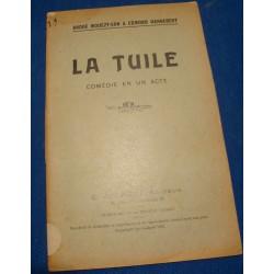 ANDRÉ MOUEZY-EON & EDMOND HANNEBERT la tuile 1912 JOUBERT Théâtre++