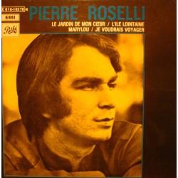 """PIERRE ROSELLI jardin de mon coeur/l'il lointaine/marylou EP 7"""" 1970 Pathé VG++"""