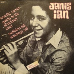 "JANIS IAN insanity comes quietly to the../sunflakes fall SP 7"" Verve VG++"