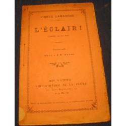 PIERRE LAMARCHE l'éclair 1892 LA PLUME Theatre - comedie RARE++
