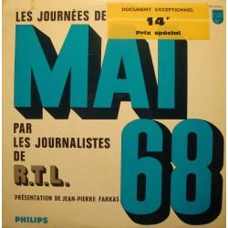 JEAN-PIERRE FARKAS journées de mai 68 RTL LP Philips - Rare - EX++