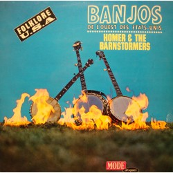 HOMER AND THE BARNSTORMERS banjos de l'ouest des Etats-unis LP VG++