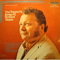 HARRY SECOMBE favourite songs of Richard Tauber LP Contour - because VG++