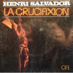 "HENRI SALVADOR la crucifixion/clochard/dernier cadeau EP 7"" 1970 Or VG++"