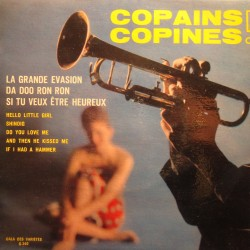 """THE TIMEBEATS/THE HIGHLIGHTS copains copines EP 7"""" G-340 grande évasion VG++"""