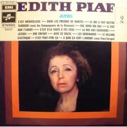 EDITH PIAF 2 jezebel LP Columbia - c'est merveilleux/le billard electrique VG++