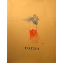 PARFUMS SHOP 8 l'univers beauté 1989 publicité RARE++