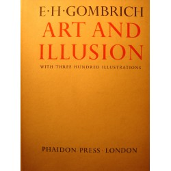 E.H. GOMBRICH art and illusion - 300 illustrations 1960 Phaidon press RARE EX++
