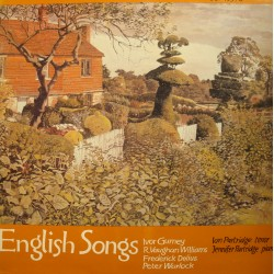 ENGLISH SONGS gunrney/partridge/warlock/delius 2LP'S 1980 Oxford VG++