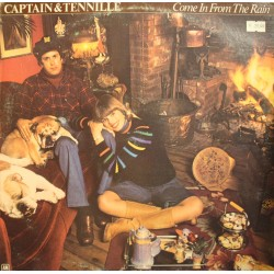 CAPTAIN and TENNILLE come in from the rain LP 1977 AM don't be scared VG++