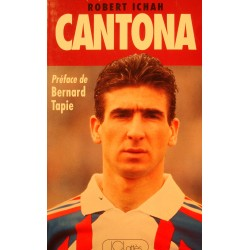 ROBERT ICHAH Cantona 1992 JC Lattès - Bernard Tapie - Football RARE++