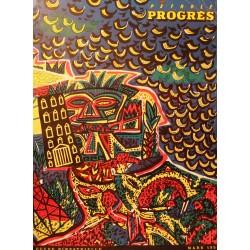 REVUE PETROLE PROGRÈS mars 1953 Venezuela/Aubusson++