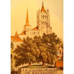 THEODORE ROUSSY la cathedrale de Lausanne - Architecture RARE EX++