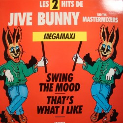 JIVE BUNNY and the MASTERMIXERS swing the mood/that's what i like MAXI 1989 VG++
