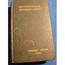 E. DECAHORS dictionnaire français-latin 1942 Hatier ++