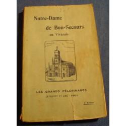 MARIUS DEVÈS notre-dame de bon-secours en Vivarais 1925 Letouzey RARE++