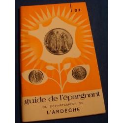 GUIDE DE L'ÉPARGNANT DE L'ARDÈCHE caisse d'epargne Tournon/Aubenas/Largentiere