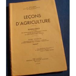 L. DULMET leçons d'agriculture T1 1943 Montauban - Tarn et garonne RARE++
