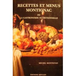 MICHEL MONTIGNAC recettes et menus - Gastronomie nutritionnelle 1992 Artulen++