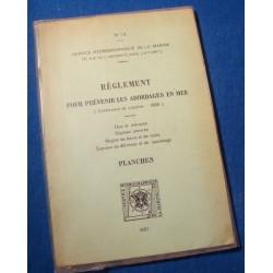 SERVICE HYDRORAPHIQUE DE LA MARINE règlement pr prévenir les abordages en mer 1967++