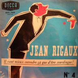 JEAN RIGAUX 4 il vaut mieux entendre çà que d'être sourdingue EP Decca VG++