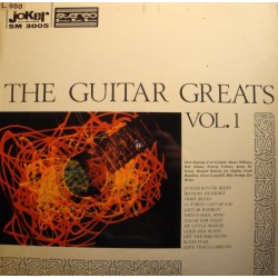 THE GUITAR GREATS VOL1 rosmini/gerlach/maphis/helms LP Joker VG++