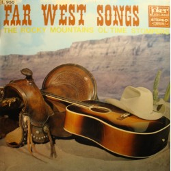 THE ROCKY MOUNTAINS OL' TIME STOMPERS far west songs LP Joker VG++