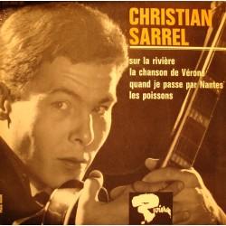 CHRISTIAN SARREL sur la riviere/chanson de Vérone/poissons EP Riviera VG++