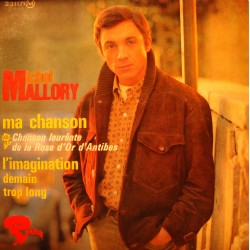 MICHEL MALLORY ma chanson/l'imagination/demain EP 1966 Riviera VG++