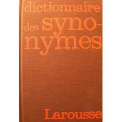R. BAILLY dictionnaire des synonymes 1973 Larousse EX++