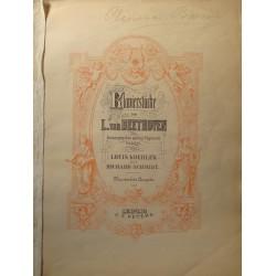 LOUIS KOEHLER/RICHARD SCHMIDT klavierstucke BEETHOVEN Ed. Peters - Partition Piano++