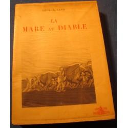 GEORGE SAND la mare au diable 1946 Ed. Pantheon - illustre RENE CANTON RARE++