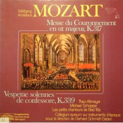 ATMEYER/SCHOPPER/BAD TOLZ/SCHMIDT-GADEN messe du couronnement MOZART LP++