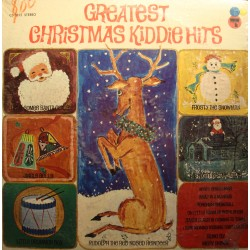 MERV SHINER greatest christmas kiddie hits LP 1970 Certron USA EX++