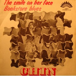"""CHIN the smile on her face/bookstore blues SP 7"""" America RARE VG++"""