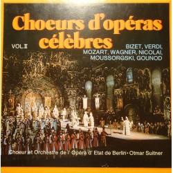 OTMAR SUITNER/ETAT DE BERLIN choeurs d'opéras célèbres vol2 LP DELTA VG++