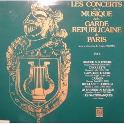 ROGER BOUTRY/GARDE REPUBLICAINE DE PARIS les concerts de musique LP DEESSE EX++
