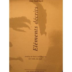 JEAN AUDOUARD éléments décrits 1998 Ed. de Janus EX++