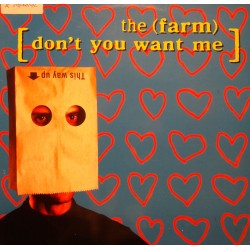 THE FARM don't you want me (4 versions) MAXI 1992 END PRODUCT EX++