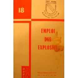 PROFESSIONNEL DU BATIMENT emploi des explosifs - Réglementation 1963 OPPBTP++