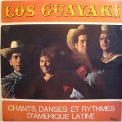 LOS GUAYAKI chants, danses et rythmes d'Amerique Latine LP Concert Hall VG++