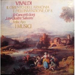FELIX AYO/I MUSICI il cimento dell armonia e dell'invenzione VIVALDI 3LP'S Box VG++