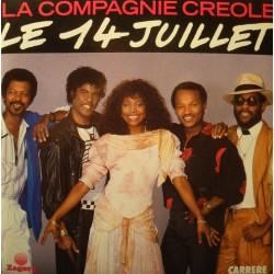 """LA COMPAGNIE CREOLE le 14 juillet/la vie entre deux valises SP 7"""" 1989 Zagora VG++"""